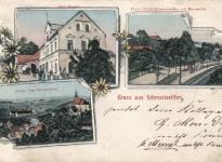 Carl Menzel Handlung Nieder Haltestelle 1909
